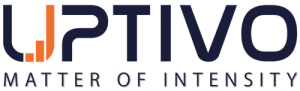 Logo Uptivo, Matter of Intensity