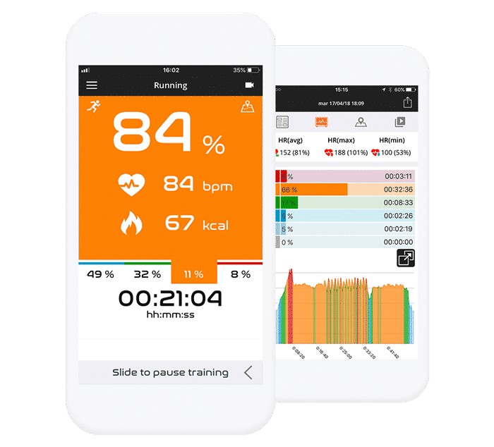 Real-time heart rate monitoring